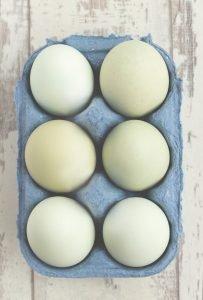 Choline rich breakfast eating eggs