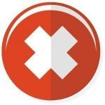 red 'cons' icon