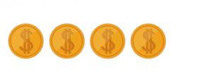 four dollar coins