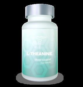 L-theanine green bottle