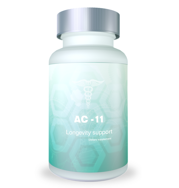 bootle of ac-11/cat's claw supplement