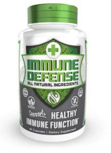 Immune defense multi-supplement bottle by nootropics depot