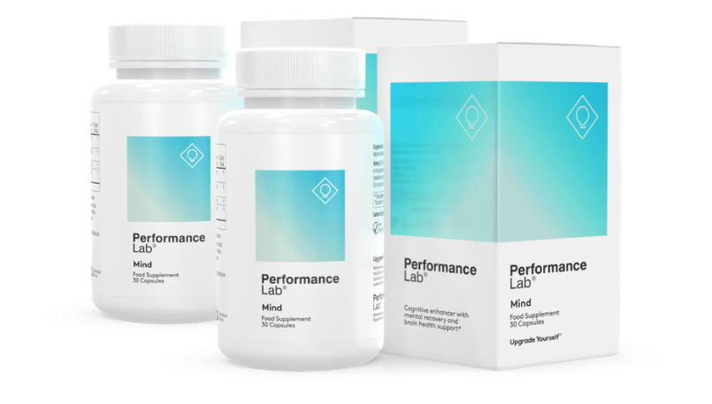 two bottles of performance lab supplement review