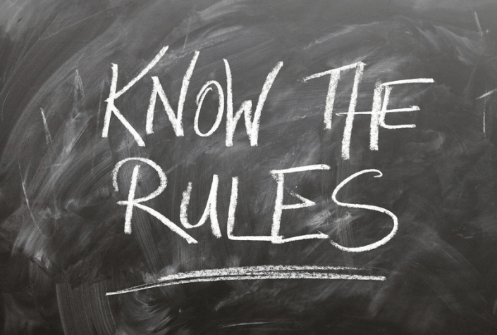 know-the-rules-board