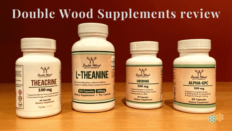 4 products from Double Wood Supplements review