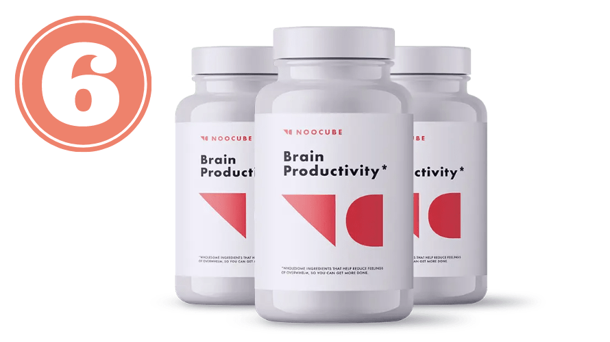 Picture of NooCube bottles for best nootropic stack review