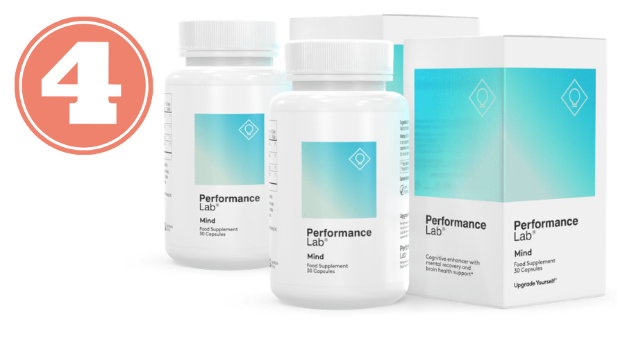 Picture of Performance Lab Mind bottles for best nootropic stack review