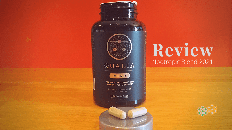 Picture of bottle for Qualia Mind review