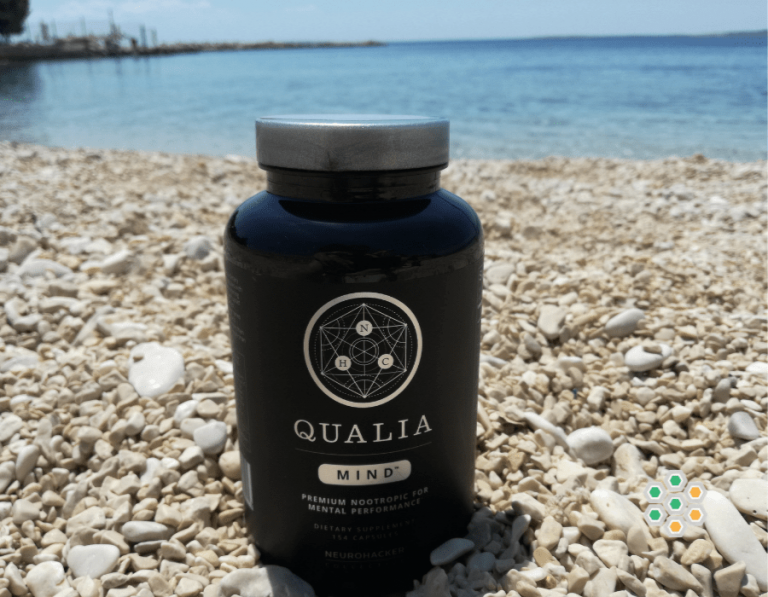 Picture of Qualia Mind review in the seaside