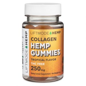 Picture of Liftmode hemp gummies with collagen