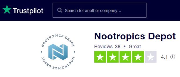Nootropics Depot Trustpilot